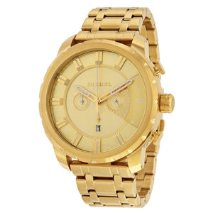 Diesel Big Daddy DZ4376 316L gold stainless steel 50m water-resistant