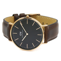 Daniel Wellington Bristol 40mm Men's Gold Watch DW00100125