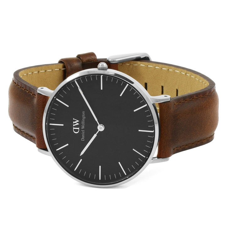 Daniel Wellington St Mawes 40mm Men's Silver Watch DW00100130