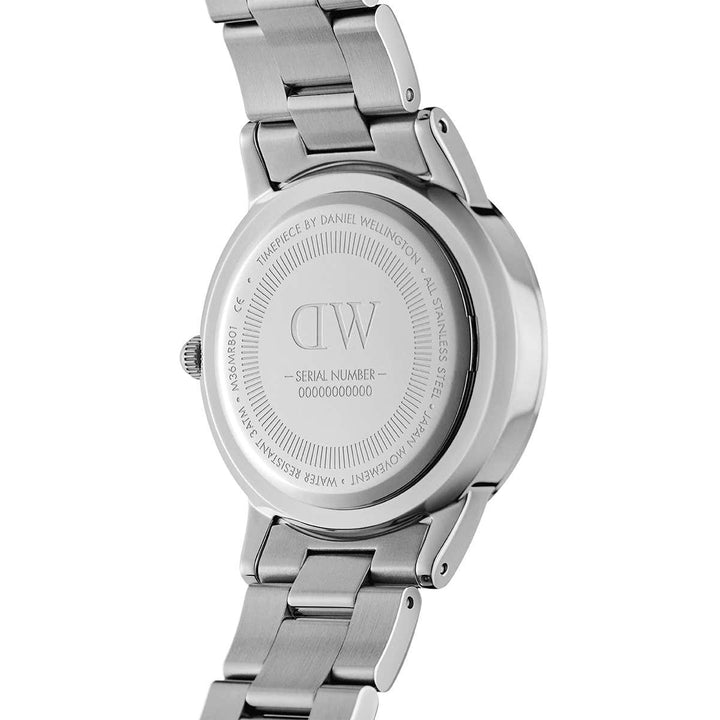 Daniel Wellington Watch Black Iconic Link 36mm Silver DW00100204