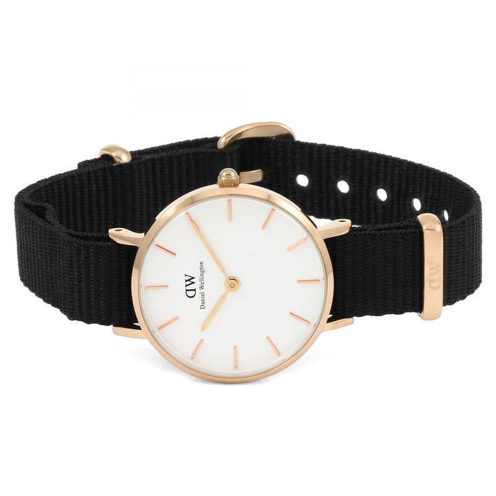Daniel Wellington White Classic Petite Cornwall 28mm Women's Gold Watch DW00100251 - Big Daddy Watches