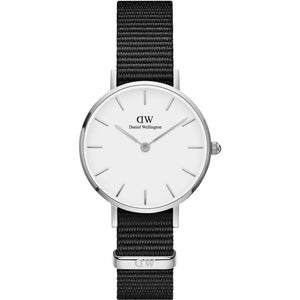 Daniel Wellington Petite Cornwall 28mm Women's Silver Watch DW00100252