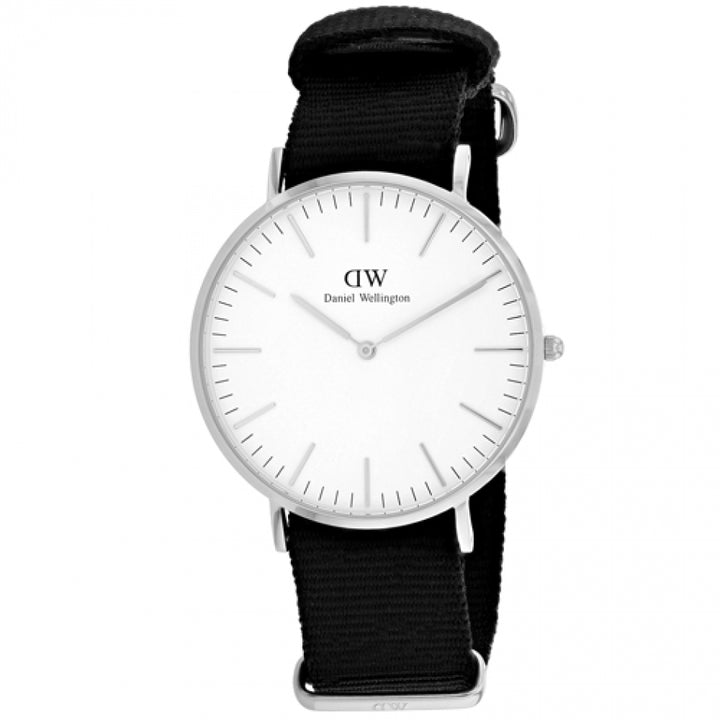 Daniel Wellington Classic Cornwall 40mm Men's Silver Watch DW00100258