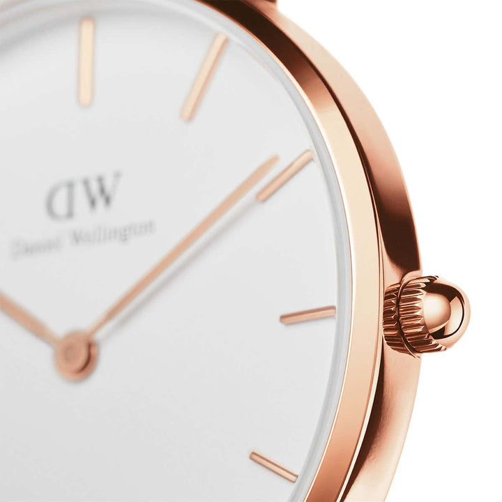 Daniel Wellington Petite Bristol 28mm Women's Gold Watch DW00100171