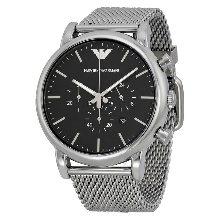 Emporio Armani Classic Chronograph Black Dial Men's Watch AR1808 Water resistance: 50 meters / 165 feet Movement: Quartz