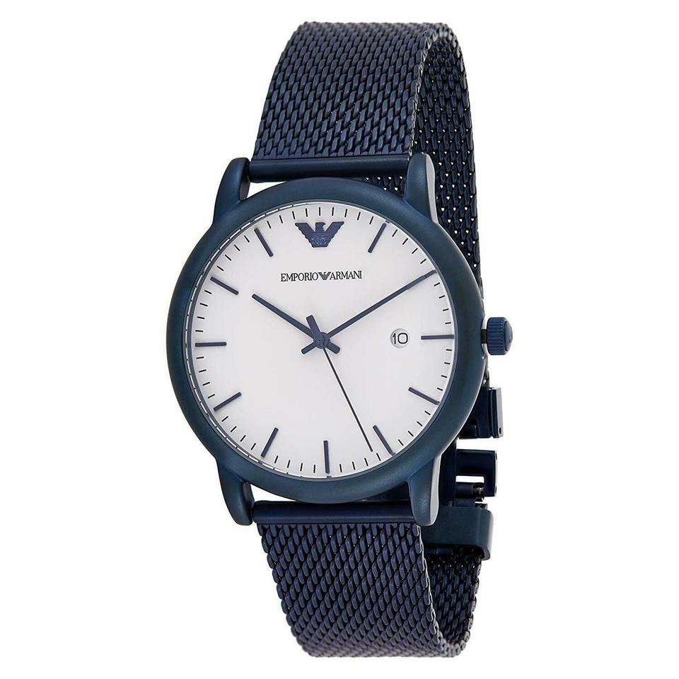 Emporio Armani Luigi White Dial Men's Watch AR11025