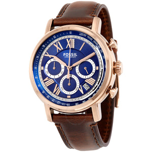 Fossil Buchanan Chronograph Blue Dial Men's Watch FS5148