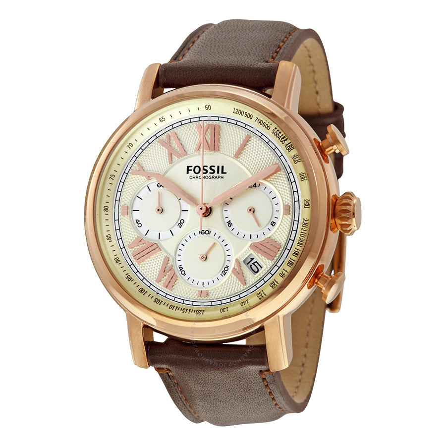 Fossil Buchanan Chronograph Champagne Dial Men's Watch FS5103