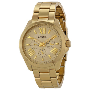 Fossil Cecile Multifunction Champagne Dial Ladies Watch AM4510