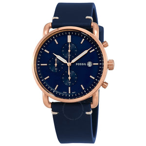 Fossil Commuter Chronograph Blue Dial Men's Watch FS5404