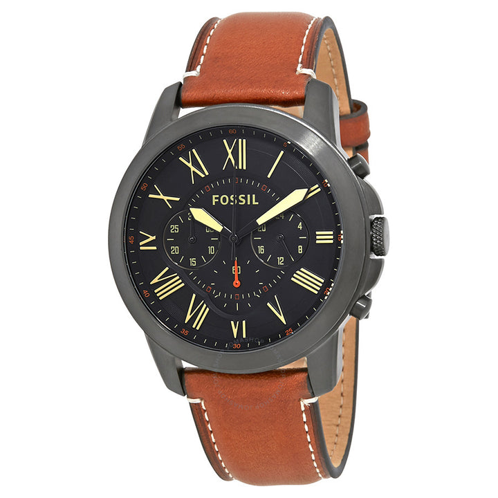 Fossil Grant Chronograph Black Dial Men's Watch FS5241