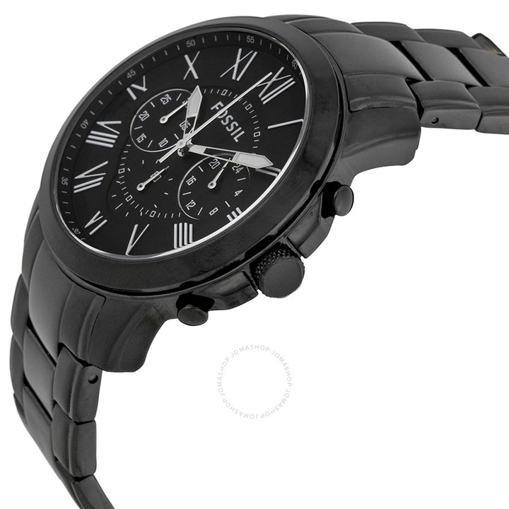 Fossil Grant Chronograph Black Dial Men's Watch FS4832