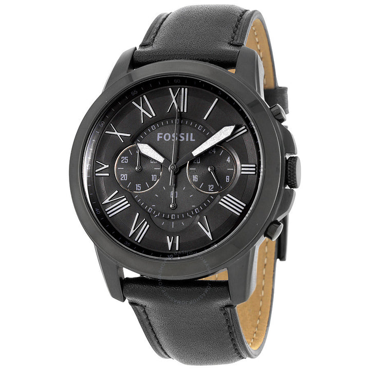 Fossil Grant Black Dial Men's Chronograph Watch FS5132