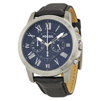 Fossil Grant Chronograph Blue Dial Men's Watch FS4990