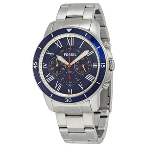 Fossil Grant Sport Chronograph Blue Dial Men's Watch FS5238