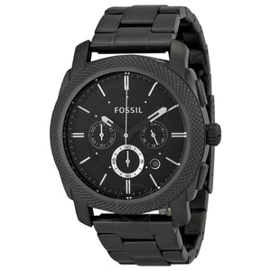 Fossil Machine Chronograph Black Dial Men's Watch FS4662