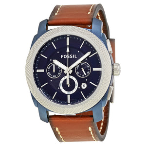 Fossil Machine Chronograph Blue Dial Men's Watch FS5232