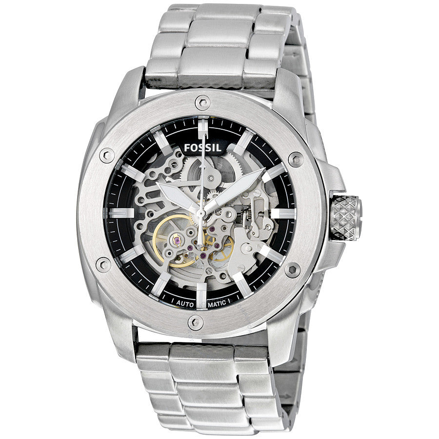 Fossil Modern Machine Automatic Skeleton Dial Men's Watch ME3081