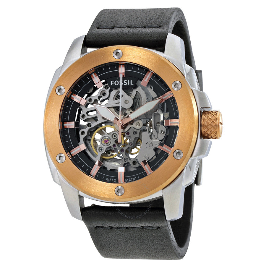 Fossil Modern Machine Automatic Skeleton Dial Men's Watch ME3082