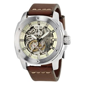 Fossil Modern Machine Skeleton Dial Automatic Men's Watch ME3083