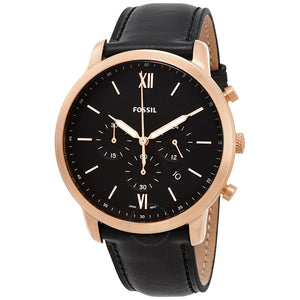Fossil Neutra Chronograph Black Dial Men's Watch FS5381