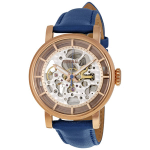 Fossil Original Boyfriend Automatic Skeleton Dial Ladies Watch ME3086
