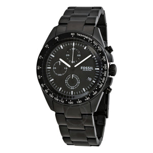Fossil Sport 54 Chronograph Black Dial Men's Watch CH3028