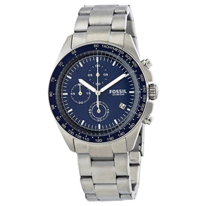 Fossil Sport 54 Chronograph Blue Dial Men's Watch CH3030