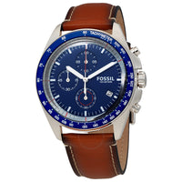 Fossil Sport Blue Chronograph Dial Men's Watch CH3039