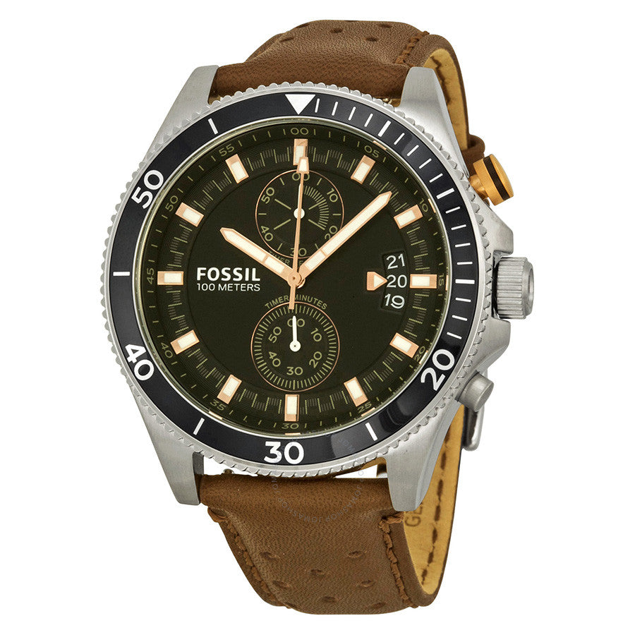 Fossil Wakefield Chronograph Black Dial Men's Watch CH2944