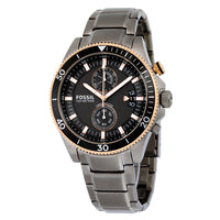 Fossil Wakefield Chronograph Dial Smoke Ion-plated Men's Watch CH2948