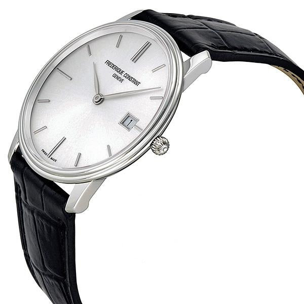 Frederique Constant Slim Line Silver Dial Watch FC-220NS4S6