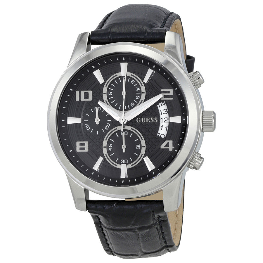 Guess Black Chronograph Dial Men's Watch W0076G1