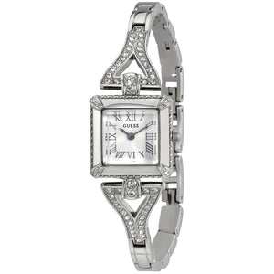 Guess Flawless Silver Dial Stainless Steel Ladies Watch W0137L1