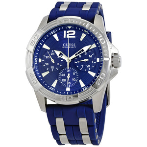 Guess Oasis Multi-Function Blue Dial Men's Watch W0366G2