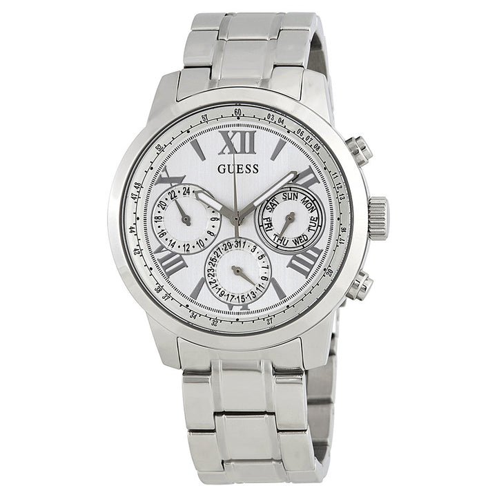 Guess Sunrise Multi-Function White Dial Ladies Watch W0330L3