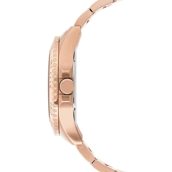 Guess Rose Gold-Tone Stainless Steel Watch W0231L4