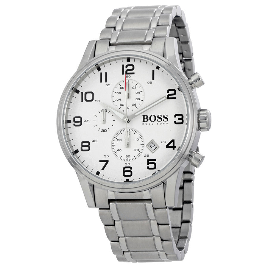 Hugo Boss Aeroliner Chronograph Dial Men's Watch 1513182 Water resistance: 50 meters / 165 feet Movement: Quartz