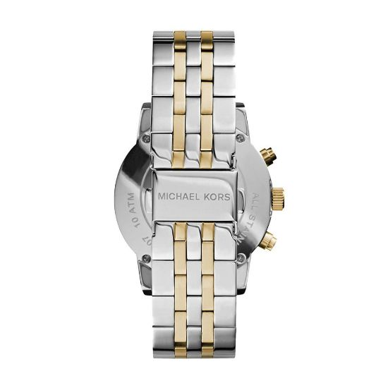 Michael Kors Bradshaw Chronograph Two-tone Watch MK5525