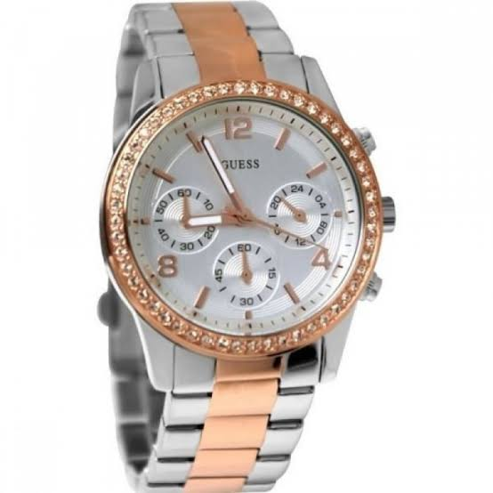 Guess Mini Spectrum Two-Tone Stainless Steel Ladies Watch W0122L1