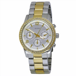 Guess Mini Spectrum Two-Tone Stainless Steel Ladies Watch W0122L2