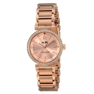 Coach 1941 Sport Rose Gold Dial Stainless Steel Ladies Watch 14502200