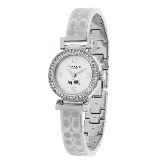 Coach Madison Silver Dial Stainless Steel Ladies Watch 14502201