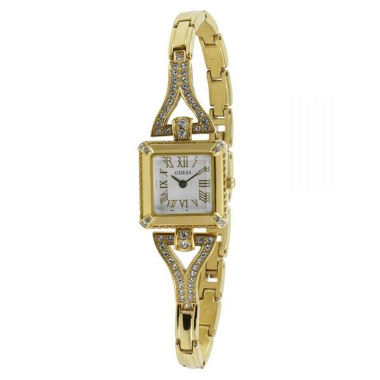 Guess Flawless White Dial Stainless Steel Ladies Watch W0137L2