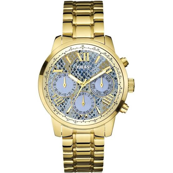 Guess Sunrise Multi-Function Gold-Tone Ladies Watch W0330L13