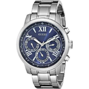 Guess Multi-Function Blue Dial Stainless Steel Watch W0330L9