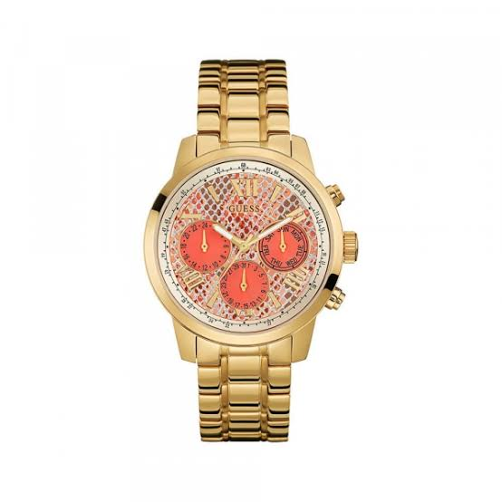 Guess Sunrise Multi-Function Gold-Tone Ladies Watch W0330L11