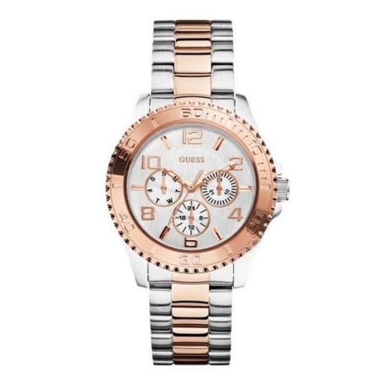 Guess Multi-Function Two-Tone Stainless Steel Ladies Watch W0231L5