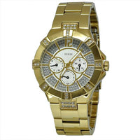Guess Vista Gold-Tone Stainless Steel Watch W13573L1