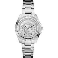 Guess Mini Phantom Silver-Tone Stainless Steel Ladies Watch W0235L1
